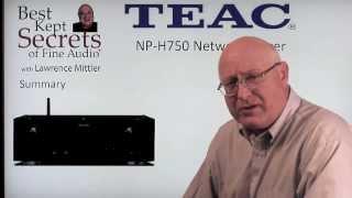 TEAC PD-501 & TEAC NP-750 Network Player - Best Kept Secrets of Fine Audio w/L Mittler