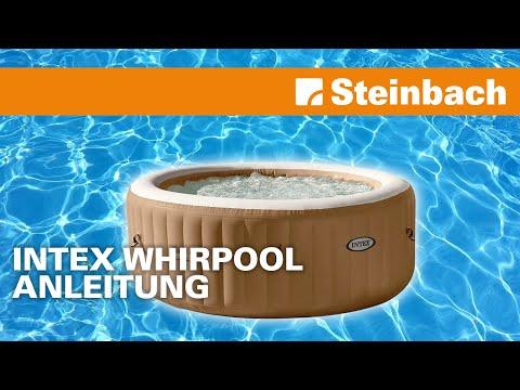 Intex Whirlpool Pure-Spa Bubble Aufbau