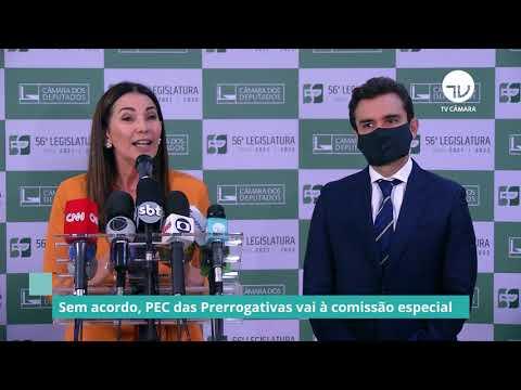 Sem acordo, PEC das Prerrogativas vai à comissão especial - 26/02/21