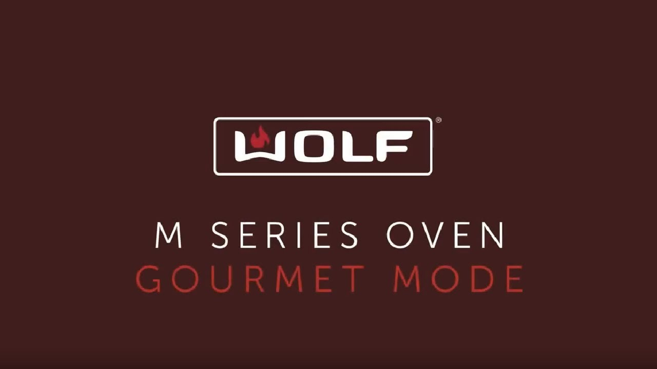 Wolf M Series Oven - Gourmet Mode - Prime Rib