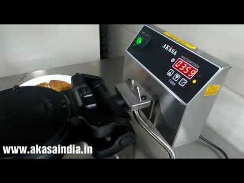 Akasa Digital Waffle Machine with Changeable Plates