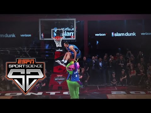 2016 Slam Dunk Contest | Sport Science | ESPN Archives