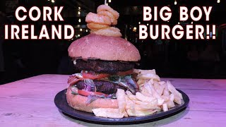 Beat The Beast Burger Challenge In Cork, Ireland!! (Undefeated)
