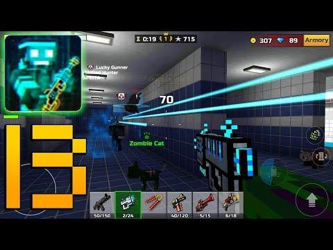 Pixel Gun 3D - Gameplay Walkthrough Part 13 - Alien Blaster