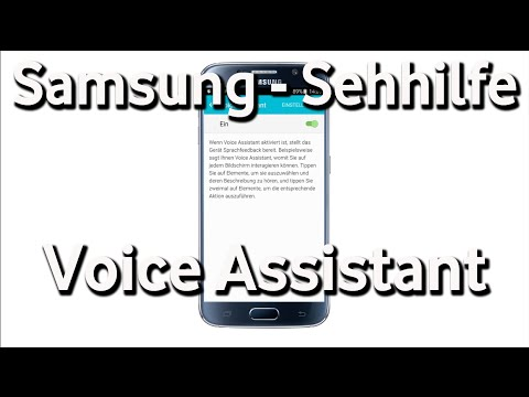 Samsung Sehhilfe - Voice Assistant