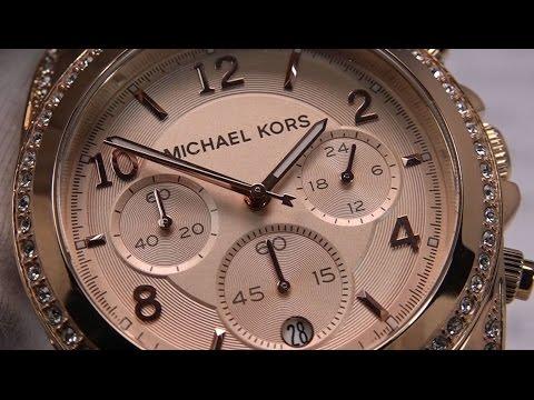 MICHAEL KORS Damenuhr Chronograph MK5263