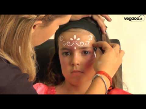 Tutorial maquilhagem de princesa