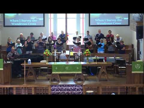 St. Andrew United Methodist Church, Chancel Choir, Sept. 9, 2018, St. Albans, WV