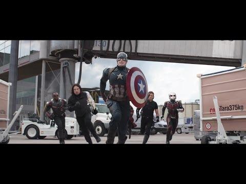 Captain America: Civil War | Airport Scene | Marvel NL