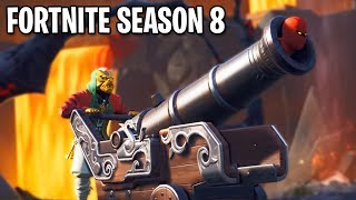 *NEW* FORTNITE SEASON 8 SNEAK PEAK! (BATTLE PASS + NEW FEATURES)