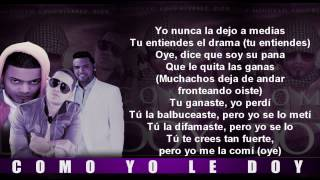 Don Miguelo Feat  Zion Y J Alvarez   Como Yo Le Doy Letras Remix www videograbber net
