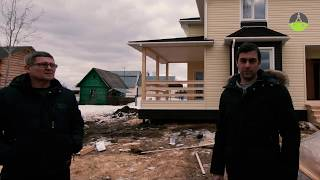 Дом из СИП с отделкой 11,5 на 9 метров с террасой. Отзыв заказчика