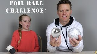 How to Make a Glass-Polished Aluminum Foil Ball! - Video Youtube