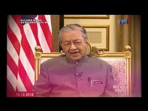BICARA KHAS BERSAMA TUN DR. MAHATHIR MOHAMAD