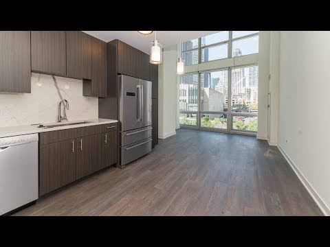 Townhome 403, 2-bedrooms, 2-baths at Streeterville's new 465 North Park