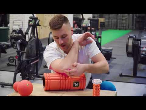 Napięcie mięśni na jego bandażowanie nóg