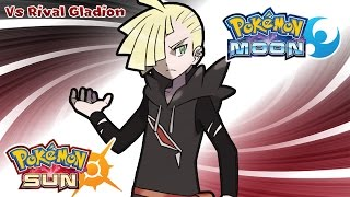 Pokemon Sun & Moon - Rival Gladion Battle Music (HQ)
