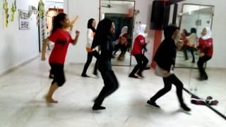 Puteri D'tari Junior Kurik Kundi Practice
