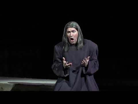 As Nabucco, role debut. August 2019