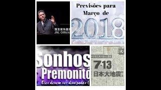 Previsões  para março  de  2018   - por Jucelino Luz