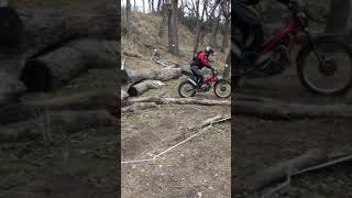 Kevin Trial Riding Douglass, Kansas