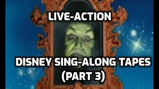 Looking Back On The Live Action Disney Sing Along Songs (Part 3)