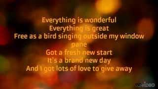 I make my own sunshine-Alyssa Bonagura Lyrics