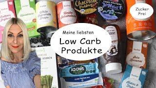 Meine liebsten Low Carb Produkte I  Zuckerfreie Süßigkeiten und mehr I  Diät Lebensmittel