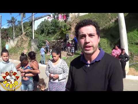 Vereador de São Lourenço da Serra Leandro de Jesus vai até a Vila de Itatuba para ouvir os Moradores do Bairro