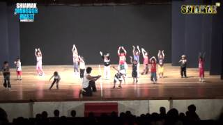 I Like To Move It - Children Advance Batch - Vashi - SHIAMAK'S Monsoon Masti 2012 - Mumbai