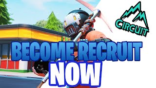 Become Circuit Recruit Now! | Easiest way to join Team Circuit