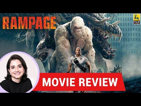 Anupama Chopra's Movie Review of Rampage | Brad Peyton | Dwayne Johnson | Naomie Harris