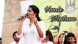 Vande matram | Lata Mangeshkar | Live performance by Gul Saxena