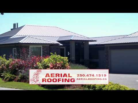 Aerial Roofing video