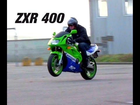TEST KAWASAKI 400 ZXR Road Test PART 11