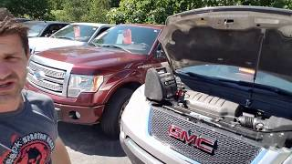 Battery Location GMC Acadia - Chevy Traverse - Saturn Outlook 2007 2008 2009 2010 2011 2012 2013
