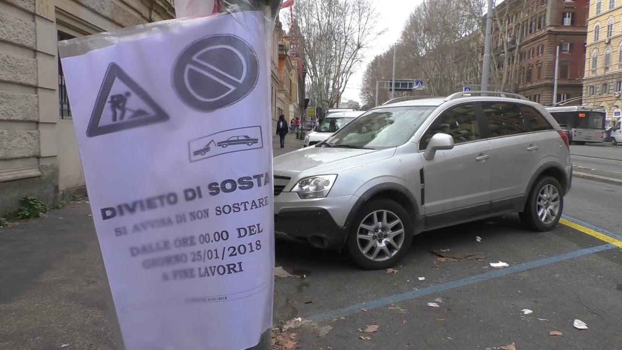 Pista ciclabile in via Nomentana, a rischio 160 posti auto