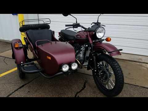 2018 Ural GearUp Sidecar Motorcycle