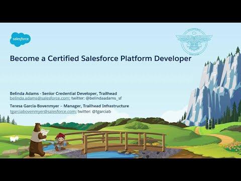 Become a Certified Salesforce Platform Developer - YouTube