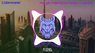 Kanye West & Lil Pump   I Love It (ETS Remix) [Bass Boosted]