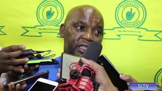 Pitso Mosimane On Loss To SuperSport United