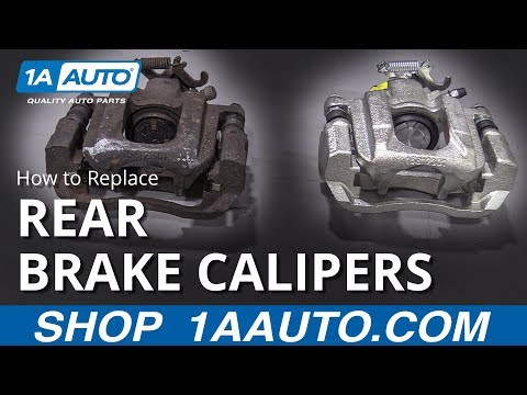 How to Replace Rear Brake Calipers On Any Car!