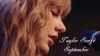 Taylor Swift September And Delicate 2018
