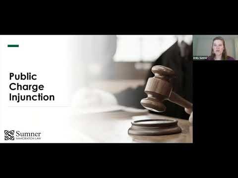Public Charge Injuction