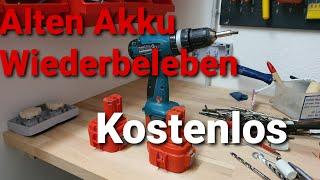 Akkuschrauber Akku Wiederbeleben Kostenlos - DER AKKU PROFI - Akku Reparieren