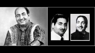 Chala Chal Musafir Mohammad Rafi Man Ka Meet (1950
