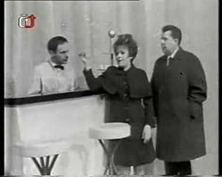 Jiřina Bohdalová a Vladimír Dvořák - V Paříži