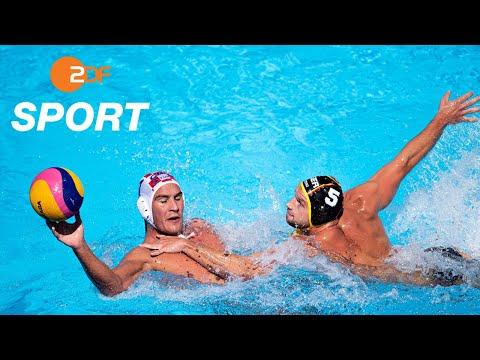 Viertelfinal-K.o. für deutsches Team - Wasserball, Kroatien - Deutschland  | Schwimm-WM 2019 - ZDF