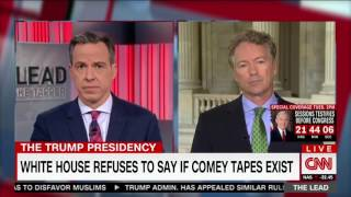 Rand Paul on Saudi Arabia Arms Deal, Jeff Session, and James Comey