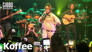 "Koffee ""Toast"" & ""Rapture"" Live In New York"